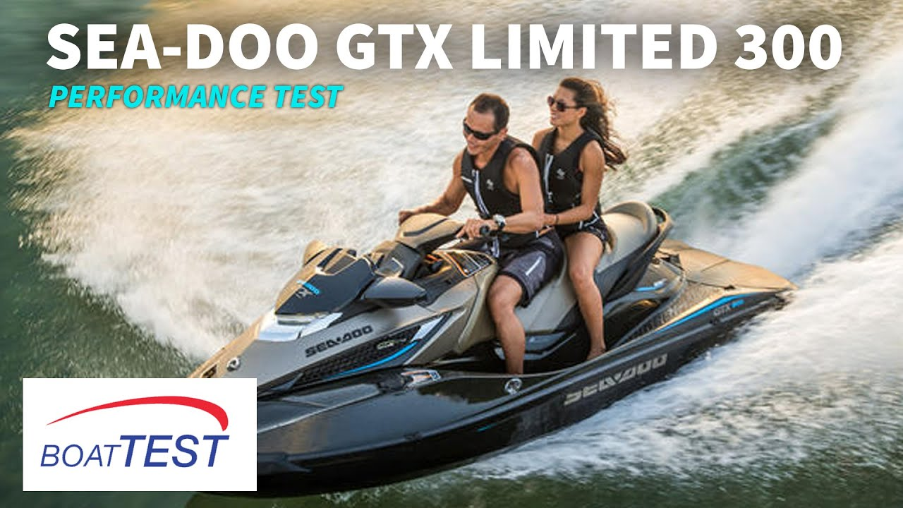 Sea-Doo GTX Limited 300 Test 2016- By BoatTest.com - YouTube