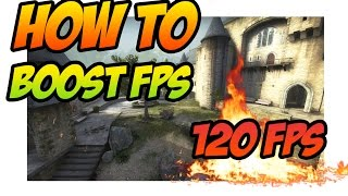 CSGO: How To Boost / Increase FPS