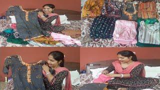 ||👗Punjabi Latest designer Suits With Stiching💕||Rural life punjab|| punjabi cooking and punjabi cul