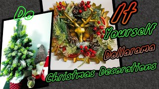 DO IT YOURSELF DOLLARAMA CHRISTMAS DECORS 2019