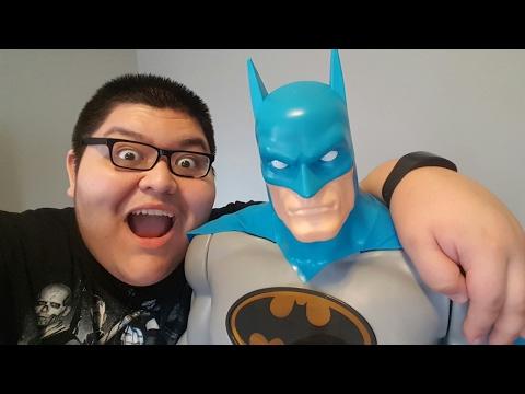 Jakks Pacific DC Universe 48-Inch Gotham City Guardian Batman Action Figure Review