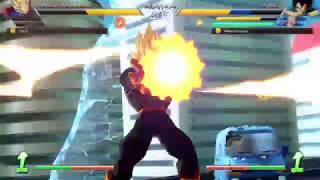 DBFZ Friendlies - MasonEliwood (Base Vegeta/Goku Blue/Black) vs. DarZr (Adult Gohan/Cell/Veg SS) #04
