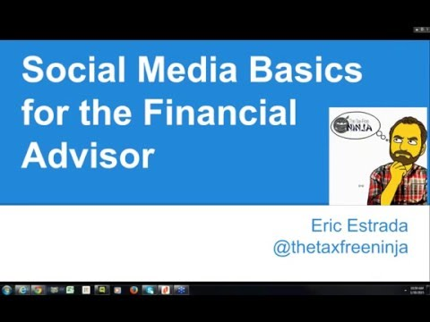 Social Media Marketing Basics for the Financial Adviser
