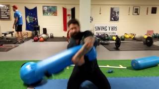 Powerful Wrestling and MMA Exercise using #AquaBag