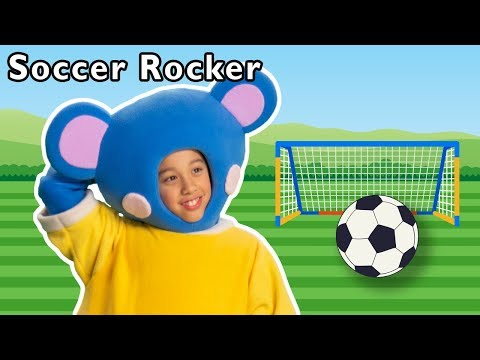 Soccer Rocker and More | 2018 WORLD CUP RHYMING | Baby Songs from Mother Goose Club!