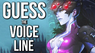 Overwatch Quiz - GUESS the VOICE LINE! (HARD)