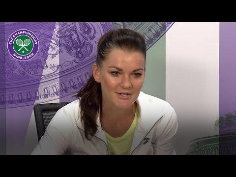 Agnieszka Radwanska Wimbledon 2017 third round press conference