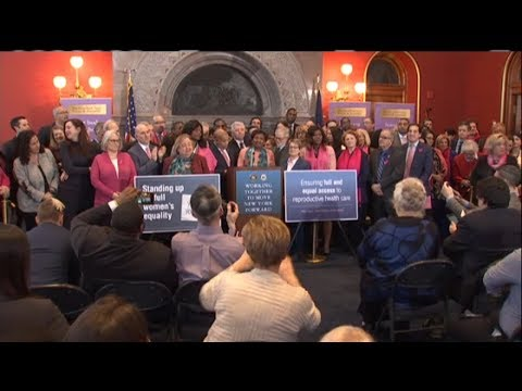 Lawmakers pass bill to protect abortion rights in New York