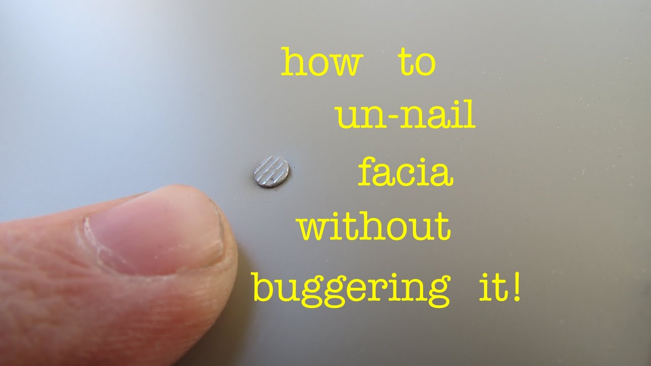 How To Remove A Nail From Fascia Or Sheet Metal Without