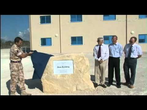 New accomodation at RAF Akrotiri 06.10.11