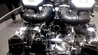 Moteur de Bugatti Chiron