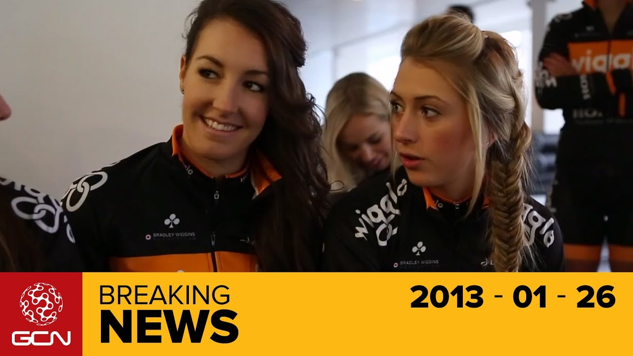 e117ca0822f Wiggle Honda Women's Pro Cycling Team Launch - Jan 2013 - YouTube