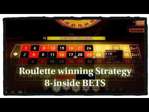 Roulette strategy inside bets only online football betting usa