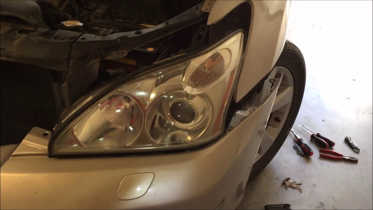Lexus rx 350 headlight replacement