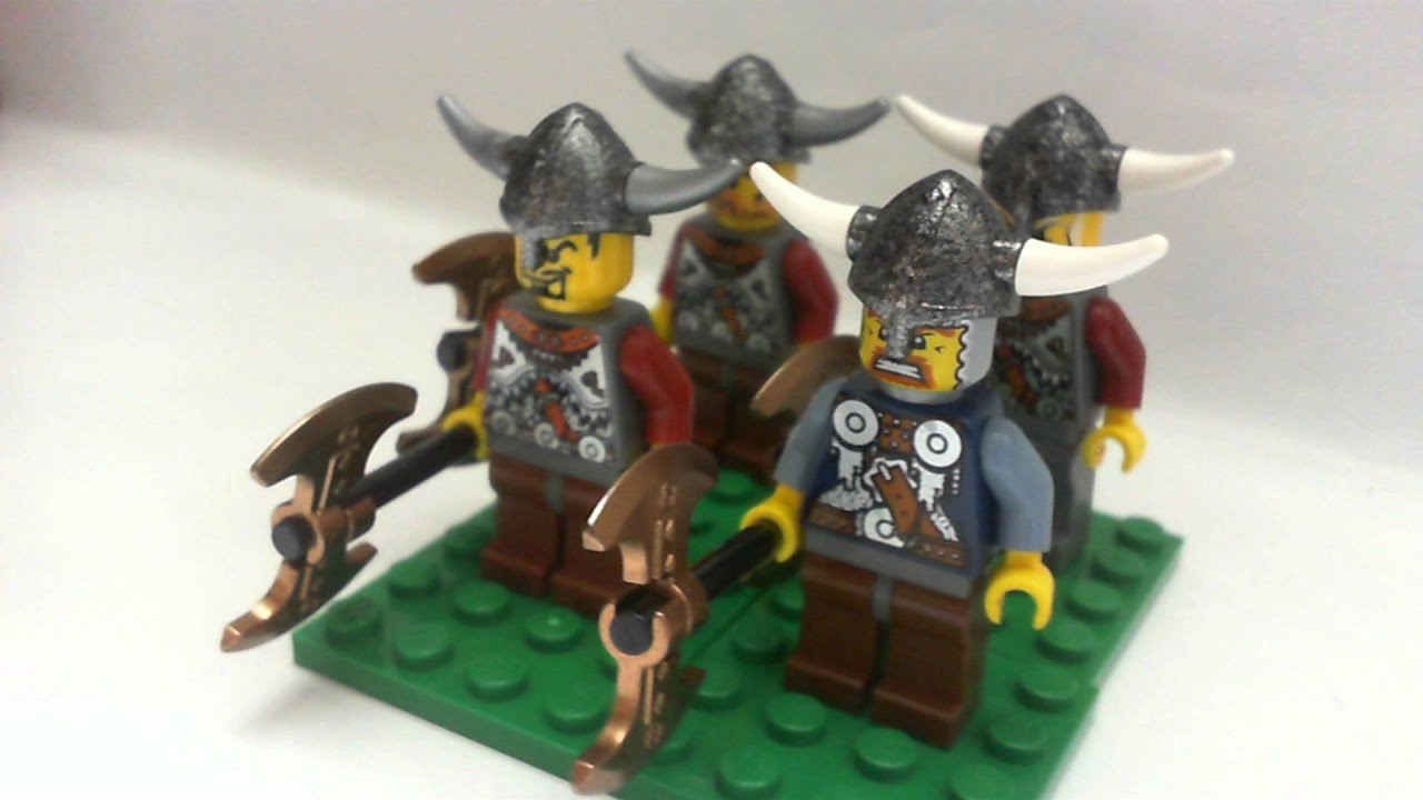 My Lego Castle Viking Army August 2011 Youtube