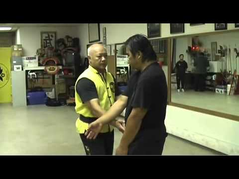 Eddie Chong - Pan Nam Wing Chun Application of Claw