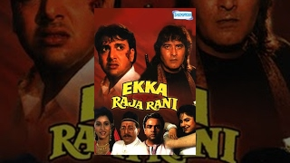 Ekka Raja Rani - Hindi Full Movie - Govinda - Vinod Khanna - Ayesha Jhulka  - 90's Hit