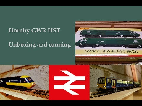 Hornby GWR Class 43 HST R3510 Unboxing and running