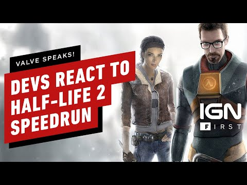 Half-Life 2 Developers React to 50 Minute Speedrun