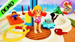 Playmobil SWIMMINGPOOL z prysznicem! Nowy basen dla rodziny Wróblewskich?