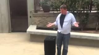 Showtime Magic Products Joe Lefler Pro Suitcase Table with Retractable Handle Stevens Magic