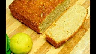 Easy Lemon Cake Recipe  Whole Wheat Lemon Cake  How To Make Simpe Lemon Cake At Home