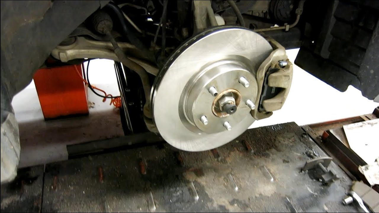 How to replace the front rotors and brake pads on 2007