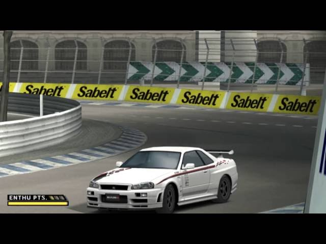 Enthusia Professional Racing PS2 PCSX2 60fps HD (2005) Konami