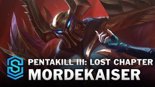 Pentakill III: Lost Chapter Mordekaiser Skin Spotlight - League of Legends