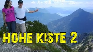 Bergtour: Walchensee - Hohe Kiste, Teil 2 [Survivalcamping #074]