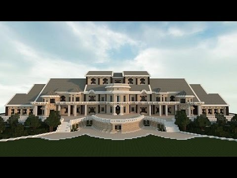 COMO HACER UNA SUPER MANSION EN MINECRAFT | Deuflou - YouTube