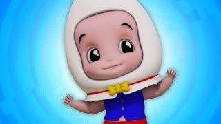 Humpty Dumpty Sat On A Wall Rhyme | детская песня | дети учатся рифму | детские рифмы