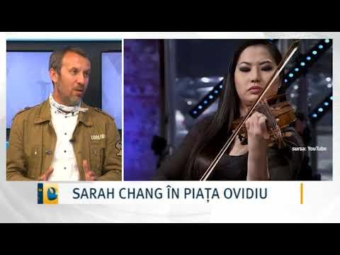 SARAH CHANG ÎN PIAȚA OVIDIU
