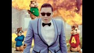 Alvin and the Chipmunks Gangnam Style thumbnail