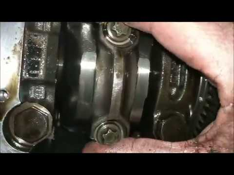 looking inside the bottom of the engine.. dw12uted 2.2 hdi