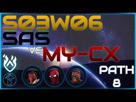 AW S03W06 Path 8 SAS vs. MY-CX