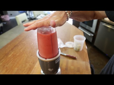 Easy Frozen Fruit Smoothie Recipe | SAM THE COOKING GUY