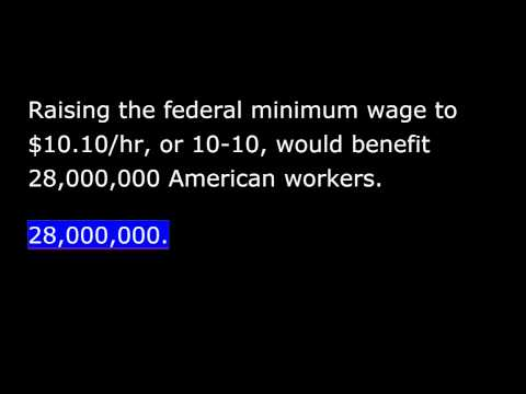 President Obama -  Weekly Address - Oct 11th, 2014 - Hard Work should be Rewarded