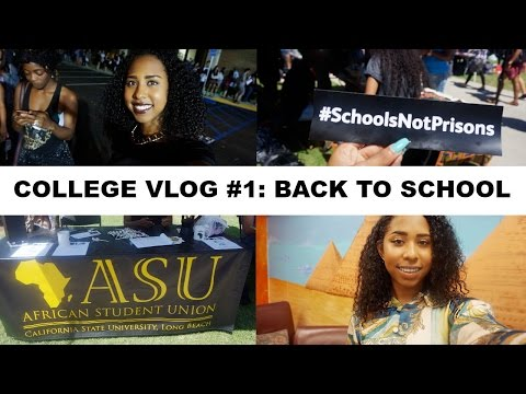 COLLEGE VLOG #1 | Back to School, Week of Welcome, CSULB!