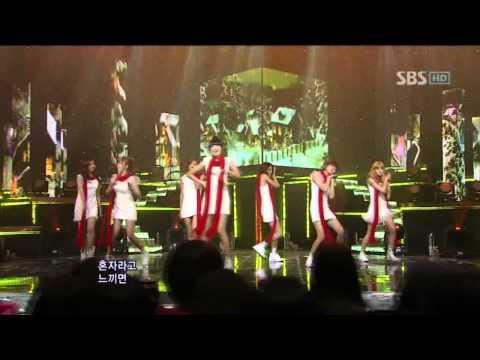 After school - Love Love Love @ SBS Inkigayo 인기가요 101219