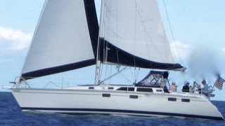 1995 Hunter 37.5 Sailboat For Sale in San Diego, CA By: Ian Van Tuyl