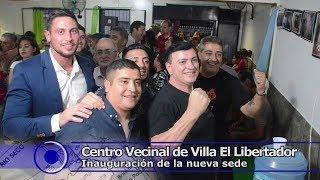 Nueva sede del Centro Vecinal de Villa El Libertador