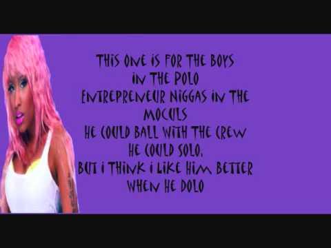 Super Bass- Nicki Minaj (ft Ester Dean) With Lyrics
