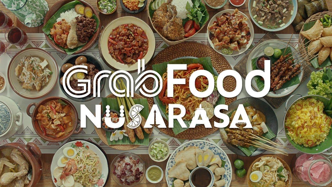Grabfood Nusarasa Rasa Asli Indonesia Youtube