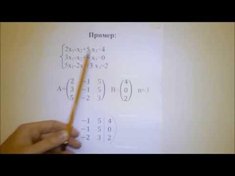 Как проверить совместность системы уравнений