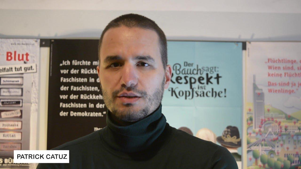 #GemeinsamSindWirMehr sagt Patrick Catuz!   #Antirassismus #Zivilcourage #Menschenrechte