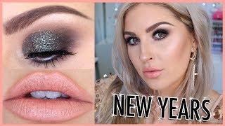 NYE Sparkly Makeup Tutorial! ✨