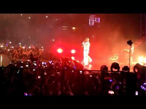 170912 몬스타엑스 Bam! Bam! Bam! 형원 DJ H.One feat 주헌 @Beautiful World Tour in Argentina