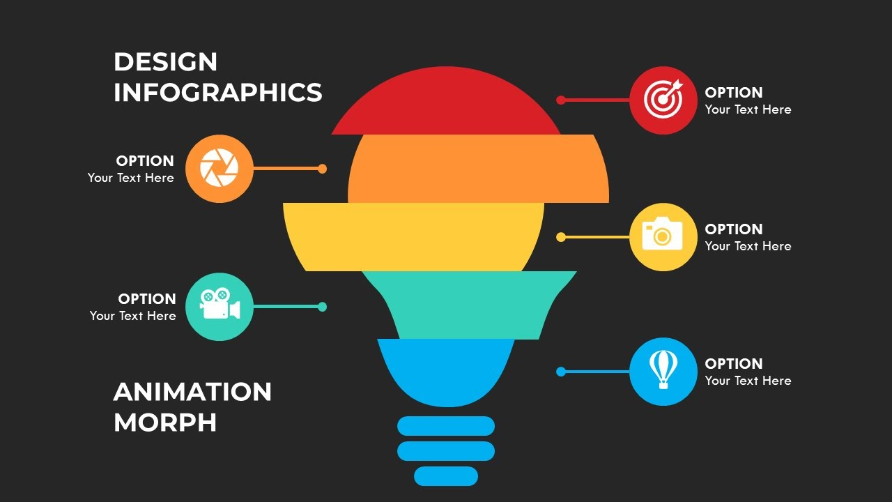 Thiết kế Infographic và Animation Morph trong PowerPoint