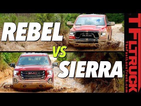 $60,000 Off-Road Truck Battle: Ram Rebel vs GMC Sierra AT4 vs Texas Mud